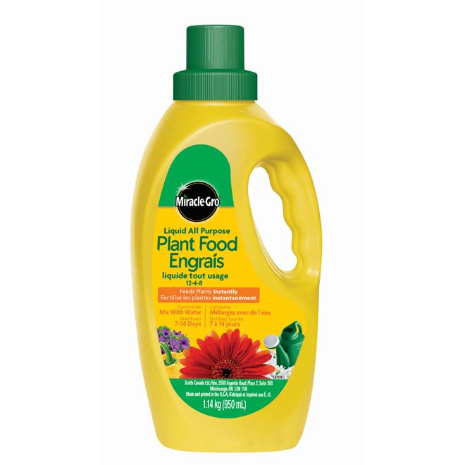 Engrais liquide concentré tout usage pour plantes, 950ml