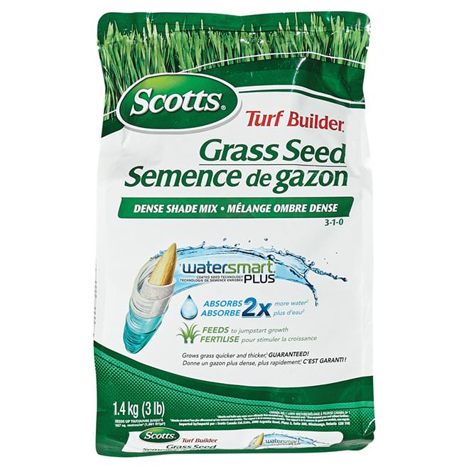 Semence à gazon mélange ombre dense, Scotts(MD), 1,4 kg