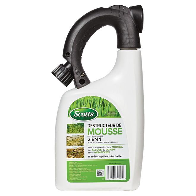 Herbicide pour mousse et algues Moss B Gon(MD), 1 l