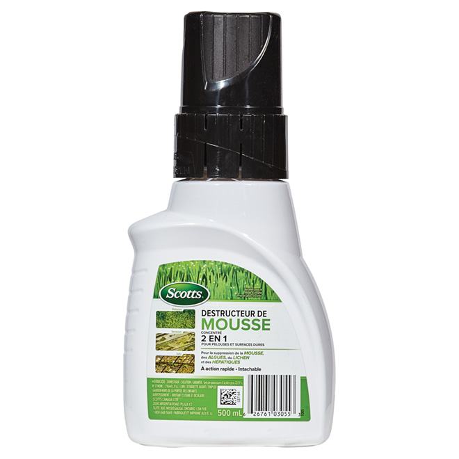 Herbicide pour mousse et algues Moss B Gon(MD), 500 ml