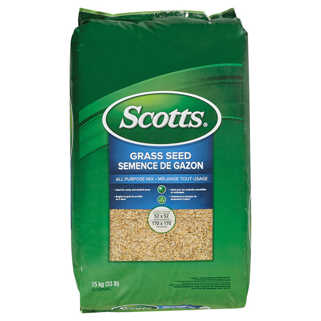 """Grass Seed - 15 kg """"Sun and Shade"""" Grass Seed"""