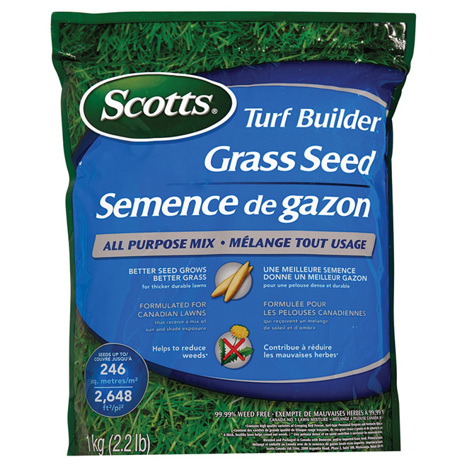 Grass Seed - Sun/Shade- 1 kg
