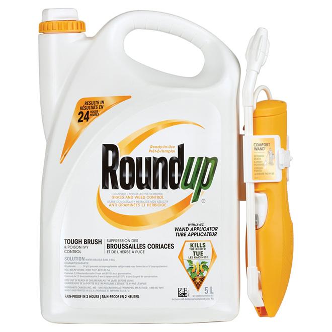 Herbicide pour l'herbe à puce avec applicateur, 5 l