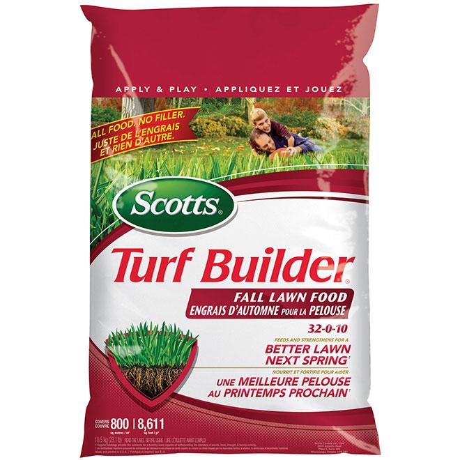 Turf Builder 32-0-10 Fall Lawn Fertilizer - 10.5 kg