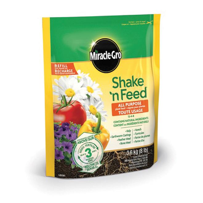 Shake 'n Feed All Purpose Plant Fertilizer - 12-4-8 - 3.6kg