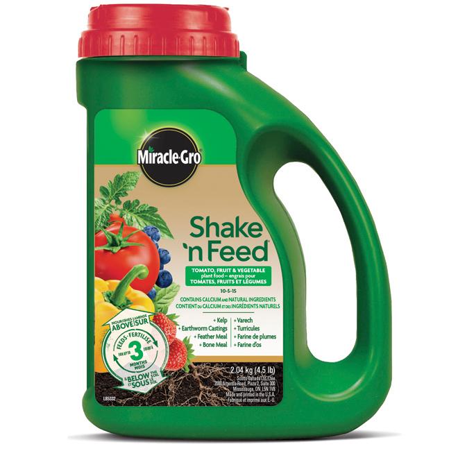 Fertilizer for Tomatoes and Vegetables -  9-4-12 - 2.04kg