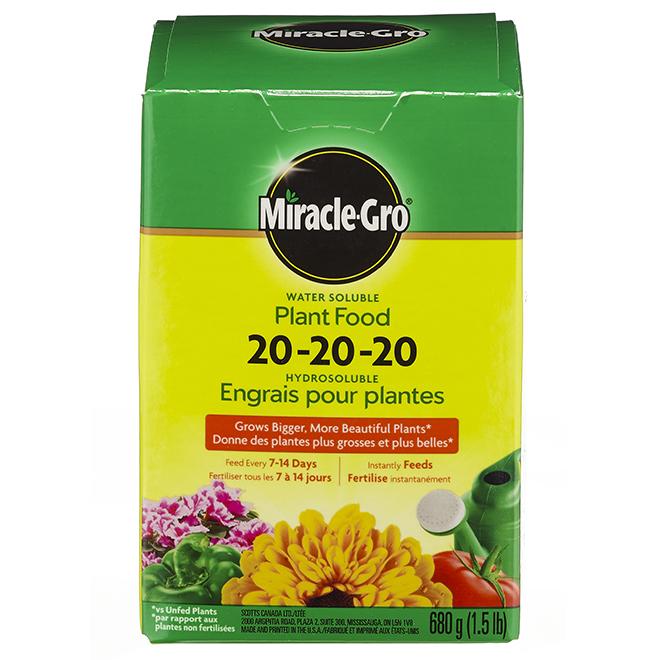 Engrais hydrosoluble tout usage, 20-20-20, 1,5 lb
