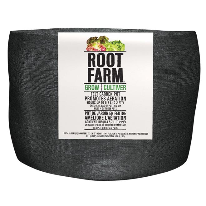 Felt Garden Pot - 5.7 L