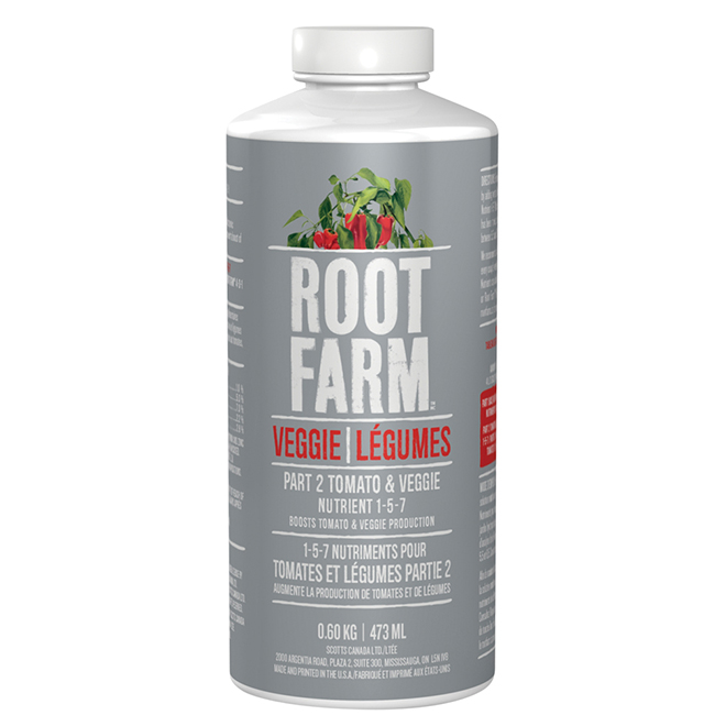 Nutriments pour tomates et légumes, partie 2, 473 ml