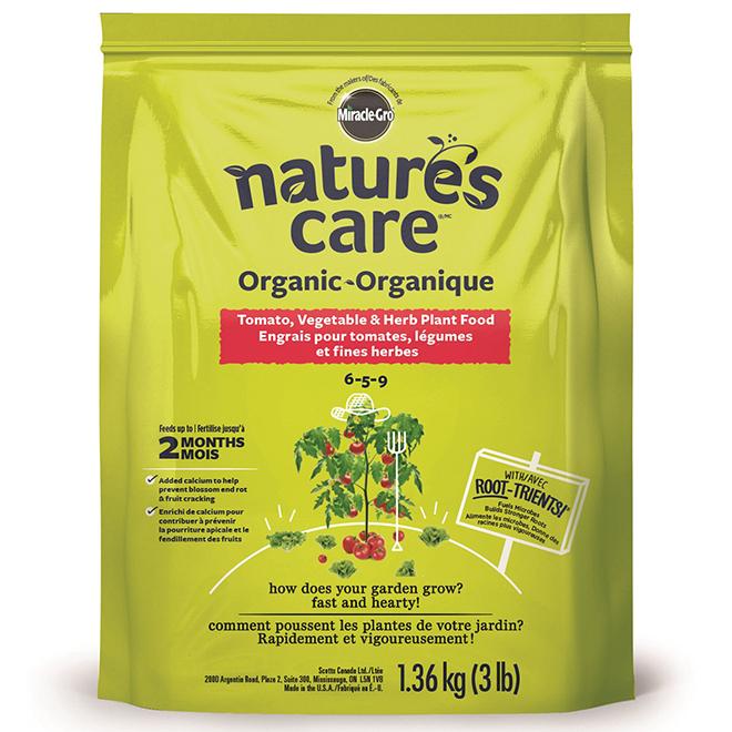 Nature's Care(TM) Tomato and Vegetable Fertilizer - 6-5-9 - 3lb
