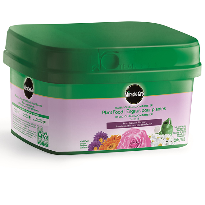 Engrais pour plantes, hydrosoluble, 15-30-15, 500 G