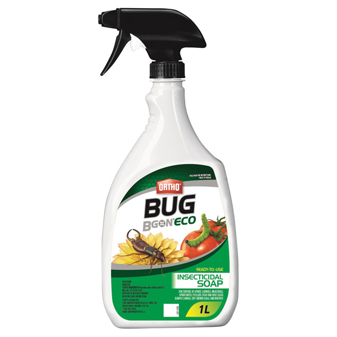 Bug B Gon® Insecticide - Ready-to-Use Soap - 1 L