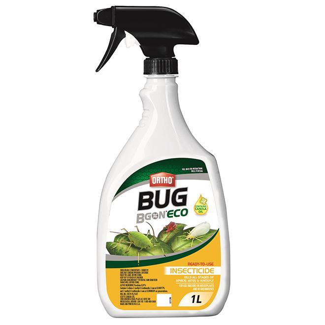 Insecticide Bug B Gon(MD) avec savon prêt à l'usage, 1 l
