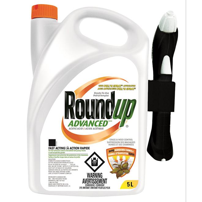 Advanced Non-Selective Herbicide - Ready-to-Use - 5 L