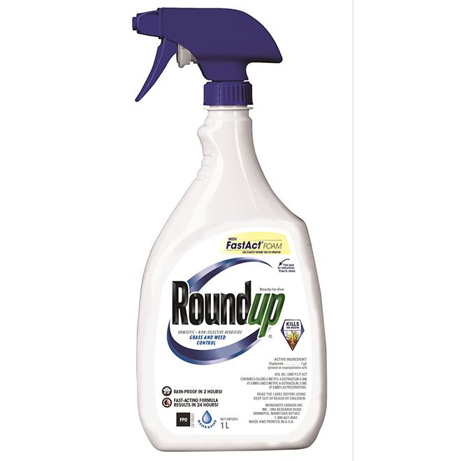 Herbicide en mousse prêt à l'emploi, non sélectif, 1 l