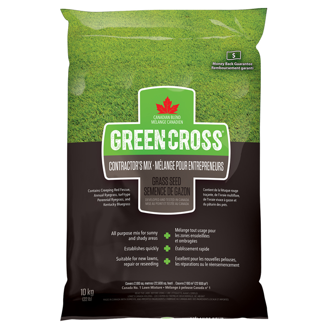 Grass Seed - Contractor's Mix - 22 lb