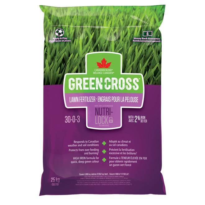 Engrais à pelouse Nutri-Lock, 55,1 lb
