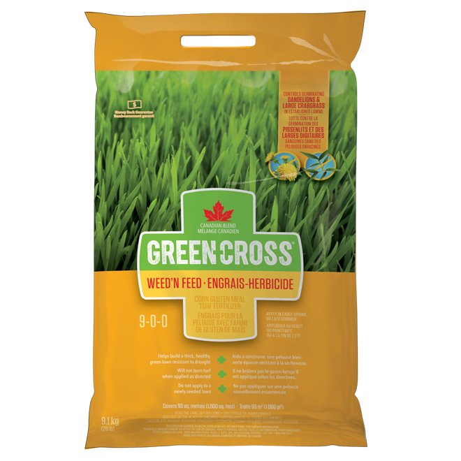 Weed Control and Fertilizer - 9-0-0- - 20 lb