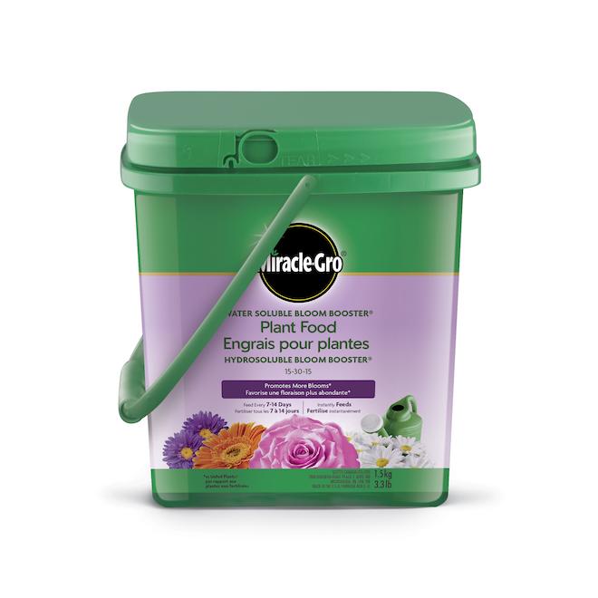 Engrais pour plantes à fleurs, hydrosoluble, 1,5 kg