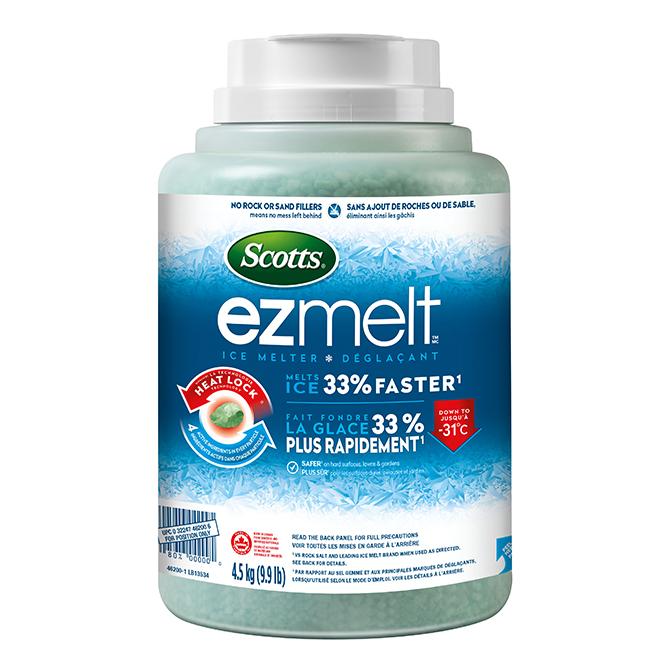 Déglaçant Scotts® EZMelt, contenant de 4,5 kg