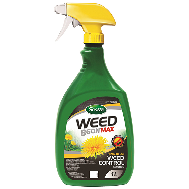 Scotts Weed B Gon MAX Herbicide - Ready to Use - 1 L