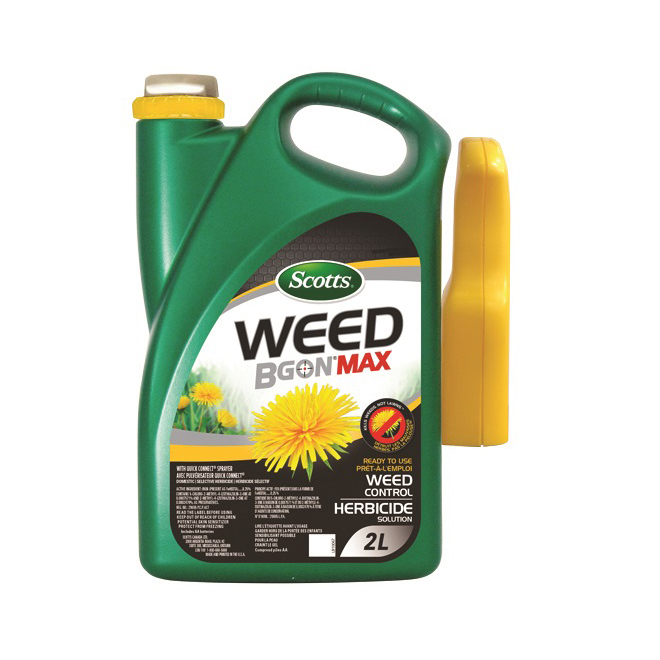 Scotts Weed B Gon Max Herbicide - Ready to Use - 2.0 L