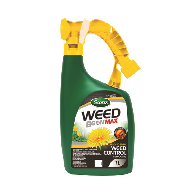 Scotts Weed B Gon Max Herbicide - Ready to Spray - 1 L