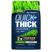Scotts Turf Builder Quick + Thick Grass Seeds - Sun-Shade Mix - 2.8 kg