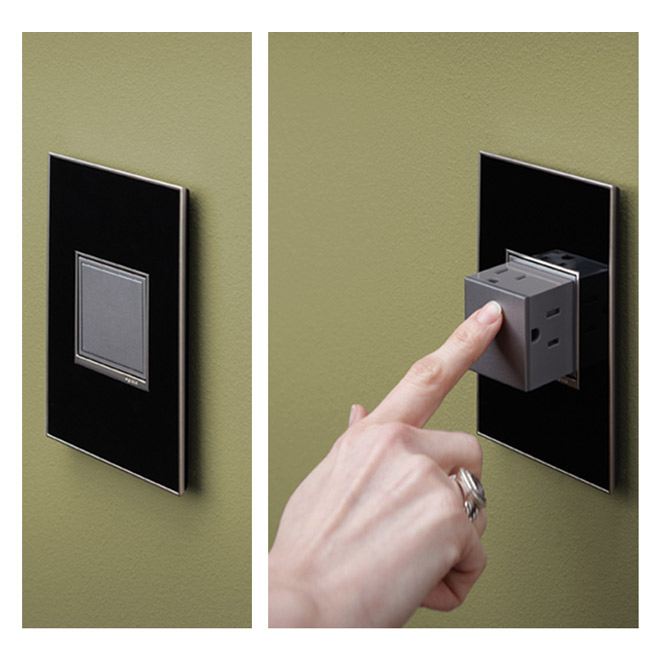 Pop-Out Outlet