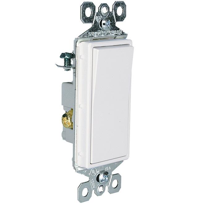 Switch - 3-Way - 15 Ampere - 120 Volt