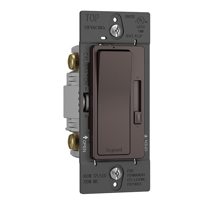 Radiant® Dimmer - Single Pole/3-way - Dark Bronze
