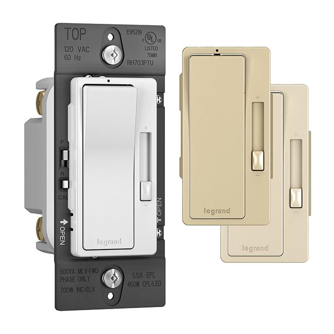 Tru-Universal Radiant® Dimmer - Single Pole/3-way