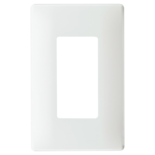 Plaque murale simple radiant(MD), sans vis, blanc