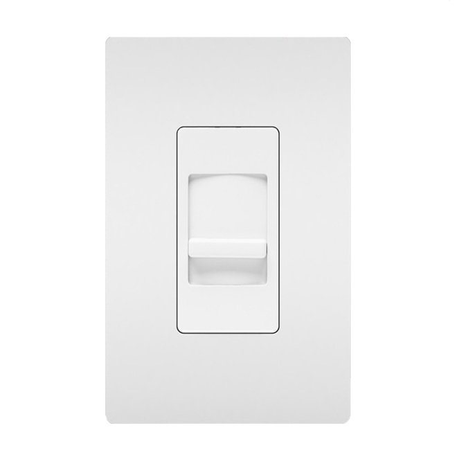 Legrand Single Pole Slide Dimmer - 450 W CFL-LED - 700 W Halogen-DEL - White - 2 Pack