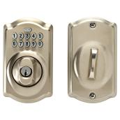 Keypad Deadbolt - Satin Nickel