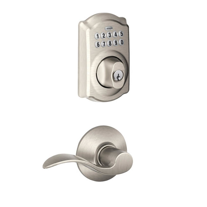 """""""Camelot/Accent"""" Combined Entrance Lock"""