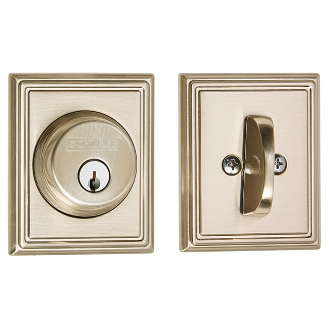 Addison Deadbolt Lock with Key and Lever