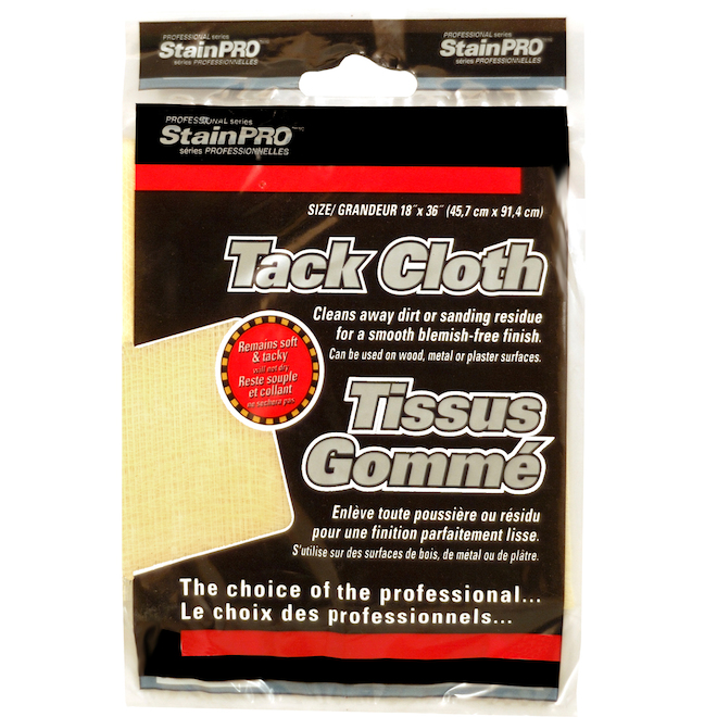 Cleaning - Tack Cloth