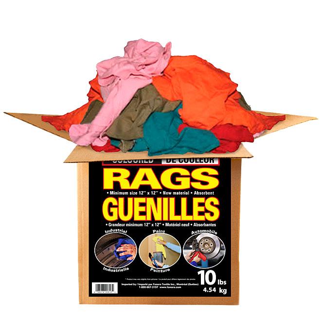 Cotton Rags - 10 lb