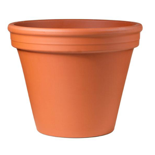 Pot pour fleurs en terre cuite