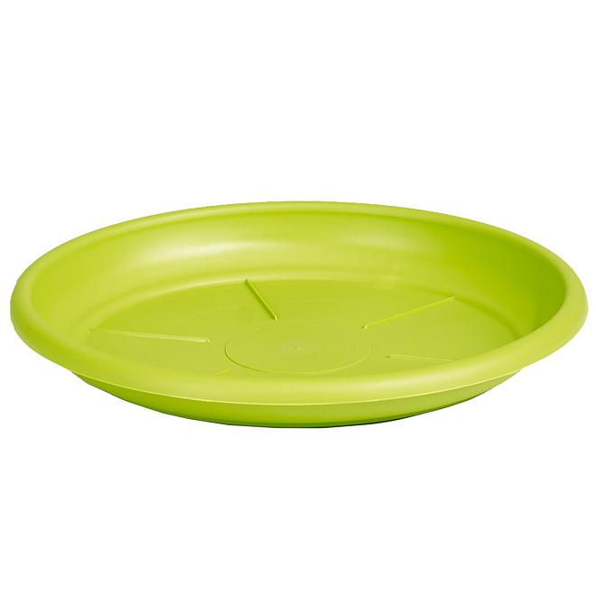"Plastic Plant Saucer 7"" - Lime"
