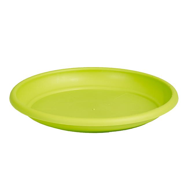 "Plastic Plant Saucer 9"" - Lime"