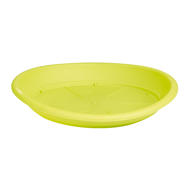 "Plastic Plant Saucer 10"" - Lime"