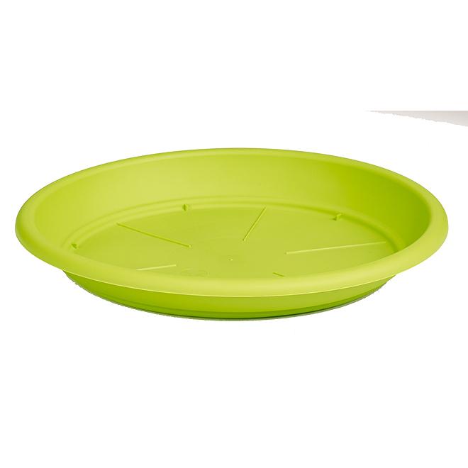 Soucoupe en plastique pour plante, 12 po, lime
