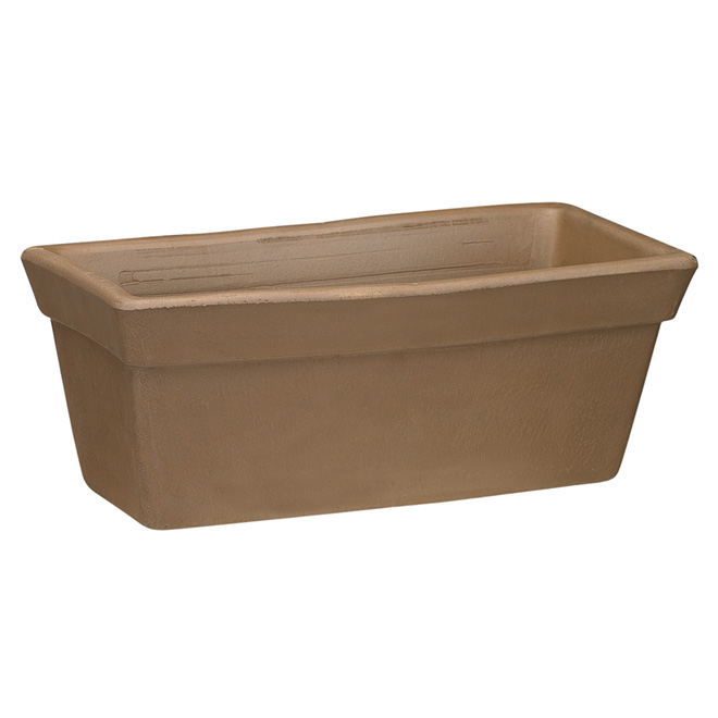 Silma Terra Cotta Planter Box 16 Chocolate 91941 Rona