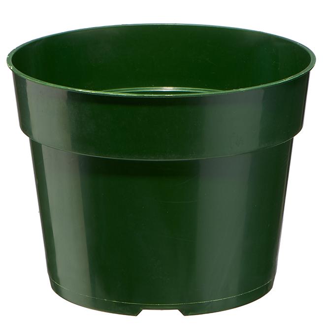 Jardinière en plastique Vaserie, 6 po, vert
