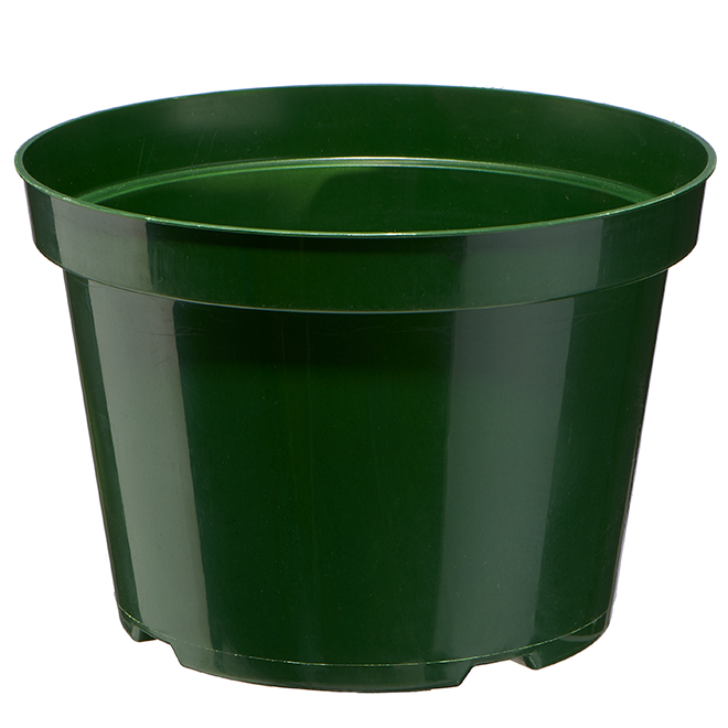 """Plastic Planter Pot - 8"""" - Green"""