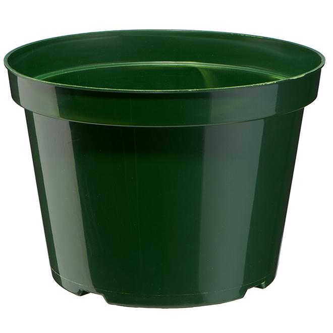 Vaserie PLP Plastic Planter - 10-in - Green
