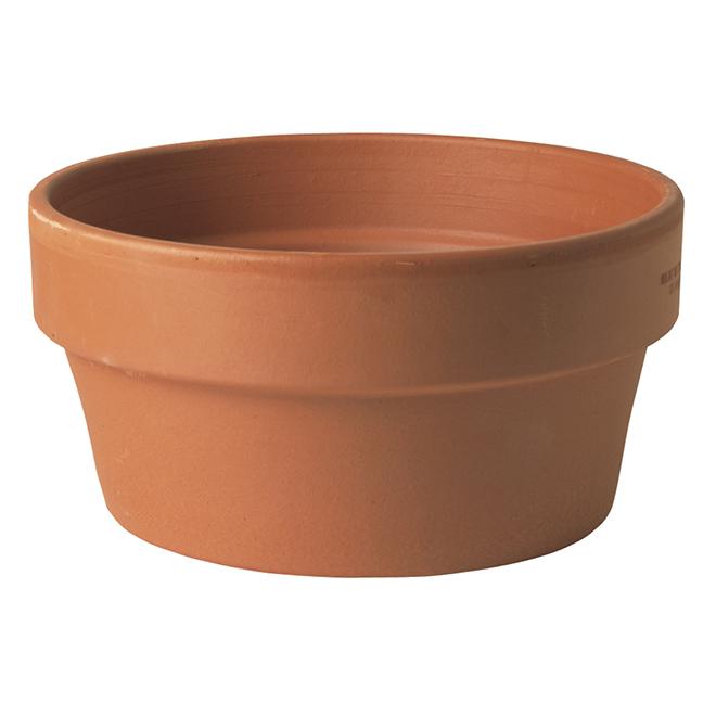 """Bulb Terra Cotta Planter Pot - 10 1/2"""" - Natural"""