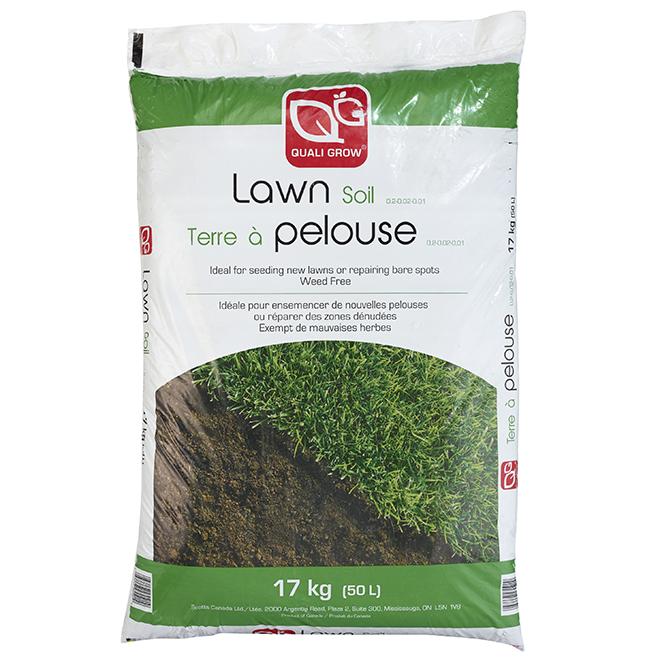 Lawn Soil - 0.2-0.02-0.01 - 17 kg (50 L)